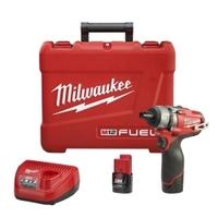 "Image Milwaukee Electric Tools 2402-22 M12  FUEL   1/4"" Hex 2-spd Scrwdriver Kit"
