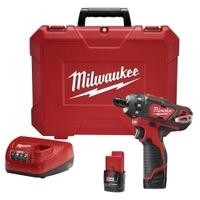"Image Milwaukee Electric Tools 2406-22 M12 1/4"" HEX SCREWDRIVER"