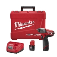 "Image Milwaukee Electric Tools 2454-22 M12 FUEL 3/8"" Impact Wrench Kit"