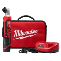 """Image Milwaukee Electric Tools 2467-21 M12 1/4"""" Hex Right Angle Impact Driver Kit"""