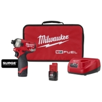 "Image Milwaukee Electric Tools 2551-22 Milwaukee M12 FUEL SURGE 1/4"" Hex Hydrauli"