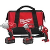 Image Milwaukee Electric Tools 2696-23 M18 3pc Impact Kit