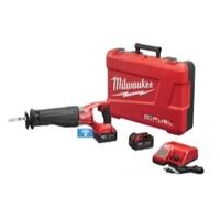 Image Milwaukee Electric Tools 2721-22 M18 Fuel Sawzall W/One-Key 2 Battery 5.0 Kit