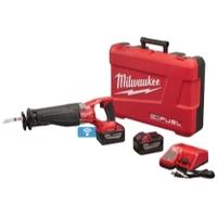 Image Milwaukee Electric Tools 2721-22HD M18 Fuel Sawzall W/One-Key 2 Battery 9.0 HD K