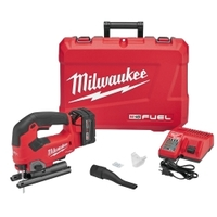 Image Milwaukee Electric Tools 2737-21 Milwaukee M18 FUEL D-Handle Jig Saw w/ (1) REDL