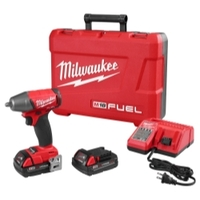"Image Milwaukee Electric Tools 2754-22CT M18 FUEL 3/8"" Impact Wrench Kit - CP Bat"