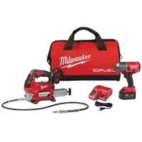 "Image Milwaukee Electric Tools 2767-22GG M18 FUEL 1/2"" High-Torque Impact w/ Free"