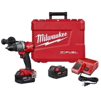 Image Milwaukee Electric Tools 2804-22 M18 Fuel 1/2IN Hammer Drill Kit