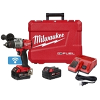 "Image Milwaukee Electric Tools 2805-22 Milwaukee M18 FUEL 1/2"" Drill with One Key"