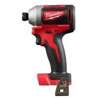 "Image Milwaukee Electric Tools 2850-20 Milwaukee M18 Compact Brushless 1/4"" Hex I"