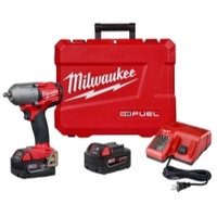 Image Milwaukee Electric Tools 2852-22 M18 FUEL 3/8IN Mid-Torque Impact Wrench 5.0 Kit