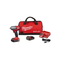 Image Milwaukee Electric Tools 2852-22CT M18 FUEL 3/8IN Mid-Torque Impact Wrench 2.0 K