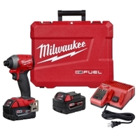 "Image Milwaukee Electric Tools 2853-22 M18 FUEL 1/4"" HEX IMPACT DRIVER XC KIT"