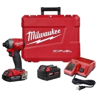 "Image Milwaukee Electric Tools 2853-22CT M18 FUEL 1/4"" HEX IMPACT DRIVER CP KIT"