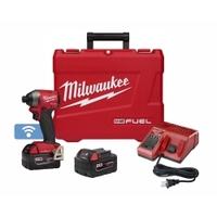 "Image Milwaukee Electric Tools 2857-22 Milwaukee M18 FUEL ONE-KEY Compact 1/4"" He"