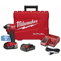 "Image Milwaukee Electric Tools 2857-22CT Milwaukee M18 FUEL Compact 1/4"" Hex Impa"