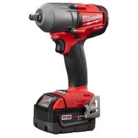 "Image Milwaukee Electric Tools 2861-22CX M18 FUEL 1/2"" Mid-Torque Impact Wrench A"