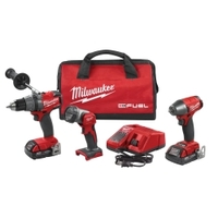 Image Milwaukee Electric Tools 2891-23 M18 FUEL 3PC Automotive Kit