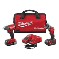 "Image Milwaukee Electric Tools 2895-22CT M18 FUEL 3/8"" Impact Wrench w/ LED Light"