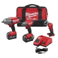 Image Milwaukee Electric Tools 2896-23 M18 FUEL 3PC Automotive Kit