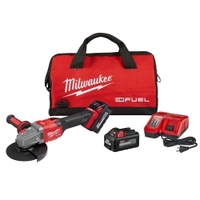 Image Milwaukee Electric Tools 2981-22 Milwaukee M18 FUEL 4-1/2-6IN GRINDER, SLIDE LOC