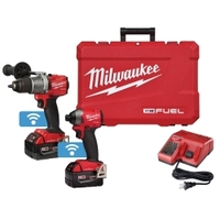 Image Milwaukee Electric Tools 2996-22 Milwaukee® 2-Piece M18™ FUEL™ Hammer Drill