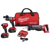 Image Milwaukee Electric Tools 2997-23 M18 FUEL 3PC COMBO KIT