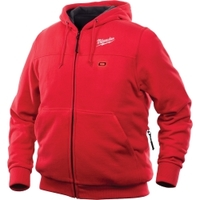 Image Milwaukee Electric Tools 302R-21S M12 Heated Hoodie Kit S (Red)