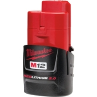 Image Milwaukee Electric Tools 48-11-2420 M12 REDLITHIUM 2.0 Compact Battery Pack