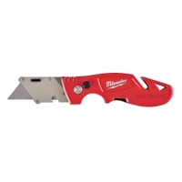 Image Milwaukee Electric Tools 48-22-1903 Fastback Flip Utility Knife with Blade Stora