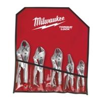 Image Milwaukee Electric Tools 48-22-3695 5PC Locking Plier Auto Kit
