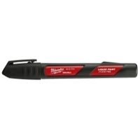 Image Milwaukee Electric Tools 48-22-3731 INKZALL Black Paint Marker - 12 Pack