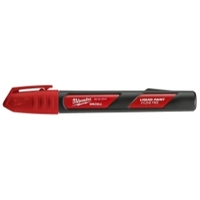 Image Milwaukee Electric Tools 48-22-3741 INKZALL Red Paint Marker - 12 Pack