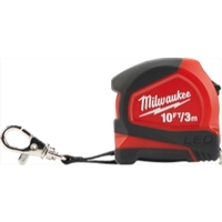 Image Milwaukee Electric Tools 48-22-6601 Milwaukee 10 ft./ 3m Keychain Tape Measure w