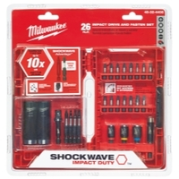 Image Milwaukee Electric Tools 48-32-4408 SHOCKWAVE DRIVE AND FASTEN SET 26PC