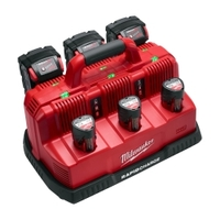 Image Milwaukee Electric Tools 48-59-1807 M18 & M12 Rapid Charge Station