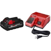 Image Milwaukee Electric Tools 48-59-1835 Milwaukee M18 REDLITHIUM HIGH OUTPUT CP3.0 S
