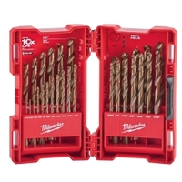 Image Milwaukee Electric Tools 48-89-2332 29PC Cobalt Red Helix Drill Bit Set