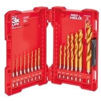 Image Milwaukee Electric Tools 48-89-4630 15PC Titanium Shockwave Drill Bit Set