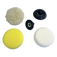 Image Milwaukee Electric Tools 49-36-2438 5pc M12 Spot Polisher Accessory Kit
