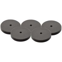 "Image Milwaukee Electric Tools 49-36-5783 5 PC 7"" Black Foam Finishing Pad"
