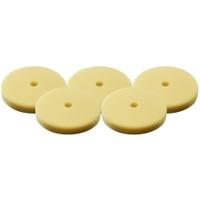 "Image Milwaukee Electric Tools 49-36-5790 5 PC 3"" Yellow Foam Polishing Pad"