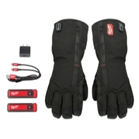 Image Milwaukee Electric Tools 561-21L GLOVES REDLITHIUM USB HEATED L
