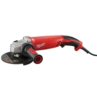 "Image Milwaukee Electric Tools 6124-30 13 Amp 5"" Small Angle Grinder Trigger Grip"