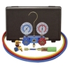 Image Mastercool 89660-UV 134A Aluminum Manifold Gauge Set with 60
