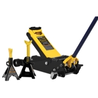 Image Omega 25055 2.5 Ton Magic Lift service jack with 3 ton stands