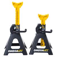 Image Omega 32038 Double locking 3 ton ratchet style jack stands