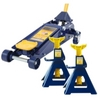 Image Omega HW93652JS 3 Ton Jack and Jack Stand (Pair) Combination