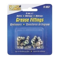 Image Plews 11-957 GREASE FITTING ASSTMNT MET 8 FITTINGS PER BOX