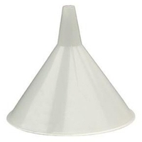 Image Plews 75-064 FUNNEL 8IN. DIA. 48OZ. ECONOMY PLASTIC